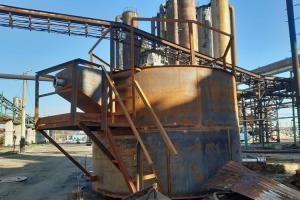 Защита емкостей для хранения сульфатов покрытием Proguard CN200.